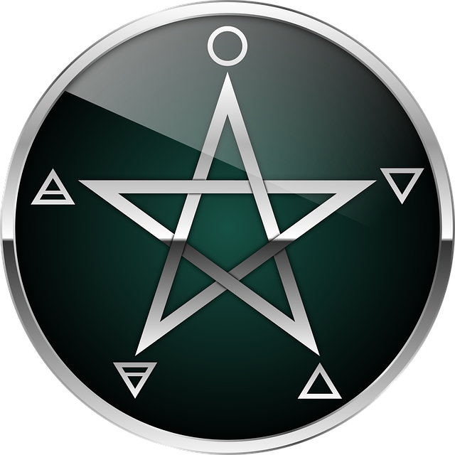 posvátný pentagram