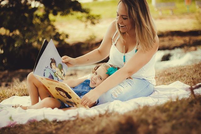 čtení s mamkou