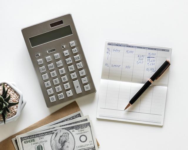 výpočet u kalkulačky